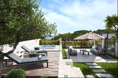 Luxurious penthouse apartment for sale in Cannes Californie with views to the Mediterranea