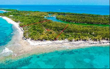 Four Large Beachfront and Canal front Lots on Rose Island - MLS 45451