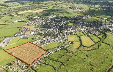 The entire site extends to approx. 14.37 acres and is zoned Existing Residential under the