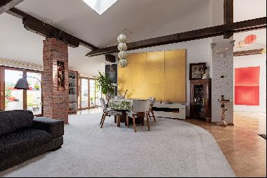 LUXURIOUS PENTHOUSE WITH TERRACE, PRAGUE 1 ID: 0558