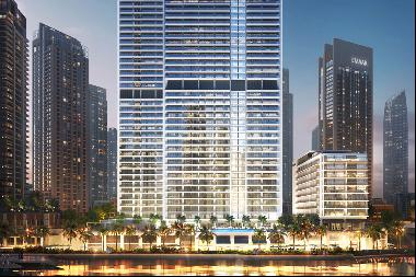 Luxury waterfront apartment in five star Dubai Creek Harbour residence