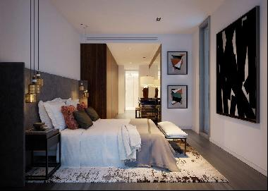 Beautiful two bedroom home for sale at Canary Wharf's One Park Drive, E14Units completin