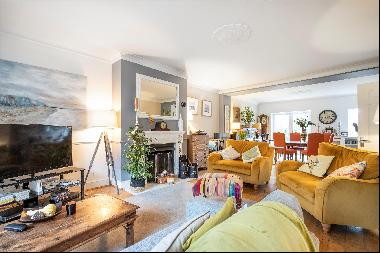 A unique four-bedroom period house overlooking Wimbledon Common for sale, SW19.