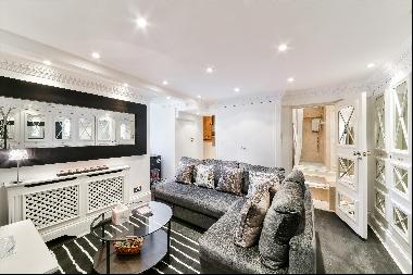 A bright and spacious studio apartment to rent in Hampstead NW3.