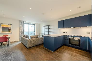 Scandi-inspired one bedroom apartment to rent in a new development in Wembley