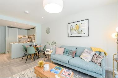 Modern one bedroom apartment in new development in Wembley Park