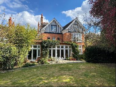 A spectacular eight-bedroom detached family home for sale in Putney.