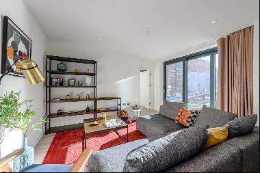 Scandi-inspired two bedroom apartment to rent in Wembley with a  balcony