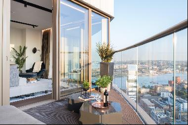 Beautiful riverside apartments with excellent transport connections available in the heart