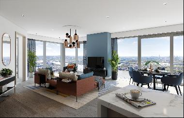 Studios, 1, 2 & 3 bedroom apartments available in Aspen at Consort Place, E14