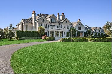 This world-class 160-acre horse farm and estate dedicated to the breeding, sale, and racin