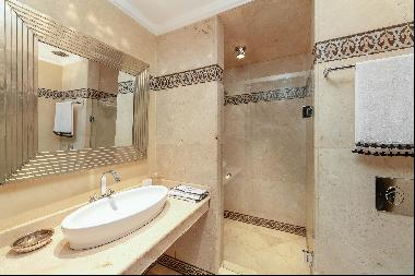Two bedroom duplex with generous terrace in the heart of the city centre of Marrakech.