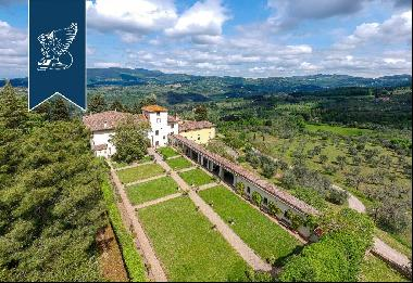 Charming Renaissance villa in Fiesole with a view of Florence's hills