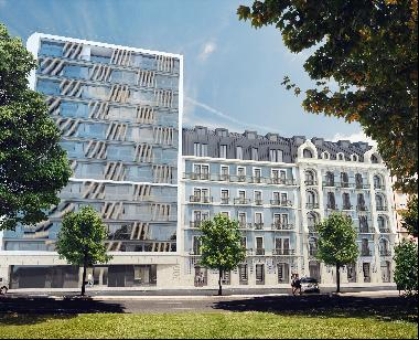 New project of beautiful apartments, duplexes and lofts in central Lisbon.