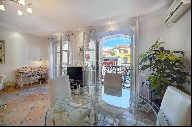 the Rue d'Antibes, Cannes,