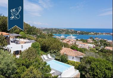 Luxury etate for sale in a charming panoramic position over Costa Smeralda