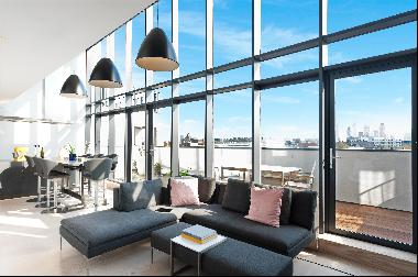 A superb 3,400 sq ft penthouse apartment for sale in Shoreditch, N1.