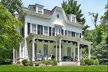 Known as Treetops, this Italianate Victorian residence built in 1859 remains today as one