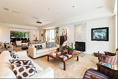 Apartment with differentiated decoration and architecture next to Clube Pinheiro