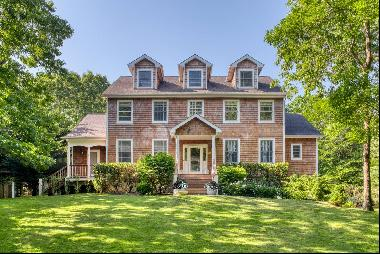 Classic Traditional home on one acre with 5 bedrooms , 4 baths and 2 half baths a wonderfu