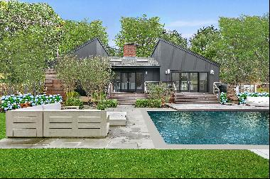 Modern & Chic in Water Mill