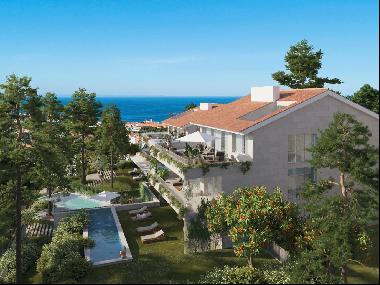 Stunning new project in prestigious location. with sea views.