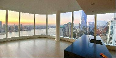 Enjoy breathtaking scenic views in this spacious two bedroom, two bathroom high-rise apart