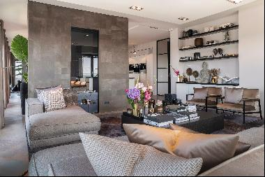 Luxury penthouse at Zuidas business district Amsterdam