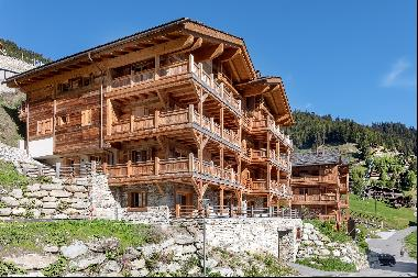 Newly built two bedroom apartment in Les Chalets d'Adelaide