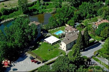 Tuscany - HISTORICAL PROPERTY WITH VILLA AND TOWER FOR SALE IN TUSCANY
