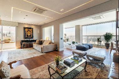 Penthouse with privileged view