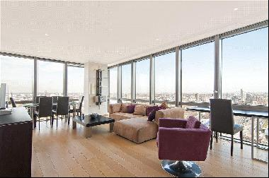 A two bedroom apartment for sale in West India Quay