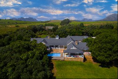 Country living in the heart of the cape winelands