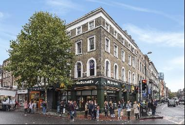 A large, 586 sqft, 1 double bedroom flat located within the heart of Kings Cross.