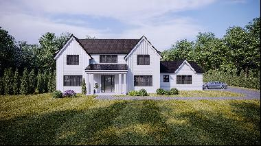 Extraordinary opportunity and unbelievable value awaits you in this New Hamptons Modern Fa