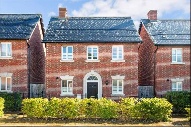 An elegant, modern two bedroom detached property designed in a traditional style by a well