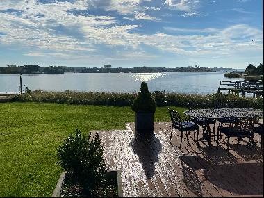 Unbelievable opportunity to own a waterfront home close to Southampton Village. With swee