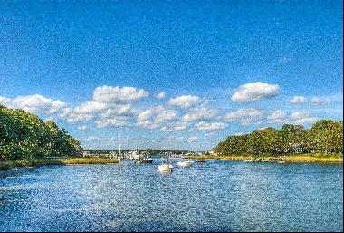 Osterville Waterfront with Dock