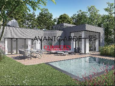 Newly constructed villa in exclusive location
