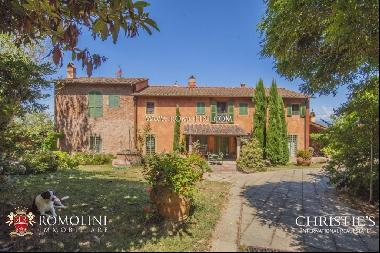 Tuscany - FARMHOUSE FOR SALE ON THE HILLS OF PISA, TUSCANY
