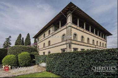 Florence - LUXURY APARTMENT FOR SALE IN HISTORIC VILLA, FIESOLE