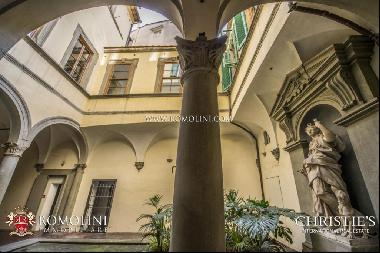 Florence - BOUTIQUE HOTEL IN RENAISSANCE PALAZZO FOR SALE NEAR SAN LORENZO